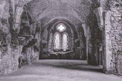 Abadía de Netley HDR Foto de archivo