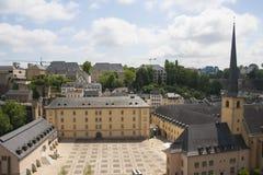 Abadía de Neumunster en la ciudad de Luxemburgo Imagenes de archivo