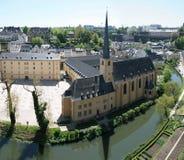 Abadía de Neumunster. Visión panorámica. Fotos de archivo libres de regalías