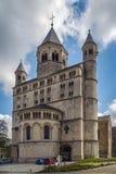 Abadía de Nivelles, Bélgica Fotografía de archivo libre de regalías