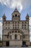 Abadía de Nivelles, Bélgica Imágenes de archivo libres de regalías