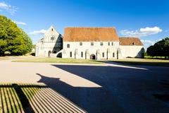 Abadía de Noirlac Imágenes de archivo libres de regalías