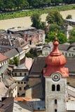 Abadía de Nonnberg Foto de archivo
