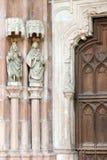 Abadía de Nonnberg Imagen de archivo libre de regalías