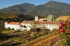 Abadía de Novacella, el Tyrol del sur, Bressanone, Italia El monasterio regular de los canones agustinos de Neustift Fotografía de archivo