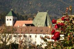 Abadía de Novacella, el Tyrol del sur, Bressanone, Italia El monasterio regular de los canones agustinos de Neustift Fotografía de archivo libre de regalías