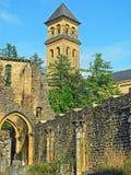 Abadía de Orval (Bélgica) Imagen de archivo libre de regalías