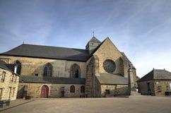 Abadía de Paimpont Broceliande, Francia Fotografía de archivo libre de regalías