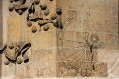 Abadía de París de Cluny (detalle) Fotografía de archivo