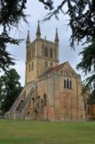 Abadía de Pershore Fotos de archivo