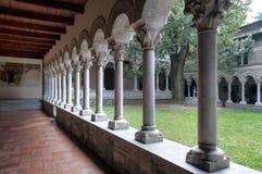 Abadía de Piona Imagenes de archivo