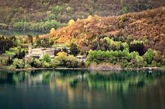 Abadía de Piona, lago Como Fotografía de archivo