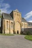 Abadía de Pluscarden en Moray Foto de archivo libre de regalías