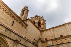 Abadía de Poblet en España Fotos de archivo