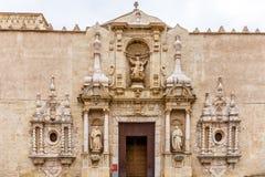 Abadía de Poblet en España Fotografía de archivo libre de regalías
