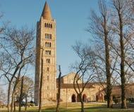 Abadía de Pomposa Imagen de archivo libre de regalías