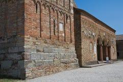 Abadía de Pomposa. Codigoro. Emilia-Romagna. Italia. Foto de archivo libre de regalías