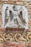 Abadía de Pomposa. Codigoro. Emilia-Romagna. Italia. Imagen de archivo libre de regalías
