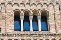 Abadía de Pomposa. Codigoro. Emilia-Romagna. Italia. Foto de archivo