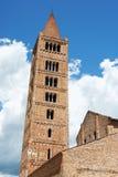 Abadía de Pomposa - la iglesia, Italia Foto de archivo