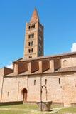 Abadía de Pomposa - la iglesia, Italia Foto de archivo libre de regalías