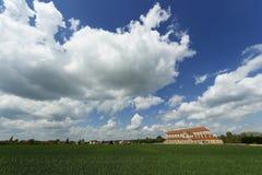 Abadía de Pontigny Fotografía de archivo