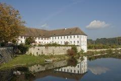 Abadía de Rheinau Imagen de archivo libre de regalías