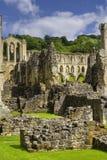 Abadía de Rievaulx Imagenes de archivo