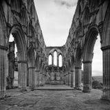 Abadía de Rievaulx Fotografía de archivo