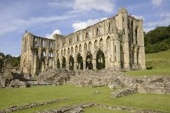 Abadía de Rievaulx Imagen de archivo libre de regalías