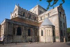 Abadía de Romsey Foto de archivo