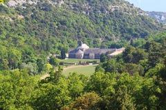 Abadía de Sénanque cerca de Gordes, Francia Fotos de archivo libres de regalías