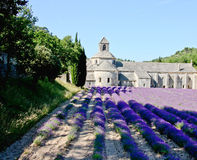 Abadía de Sénanque en Provence Imagenes de archivo