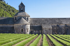 Abadía de Sénanque Fotografía de archivo libre de regalías