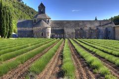 Abadía de Sénanque Imagen de archivo libre de regalías