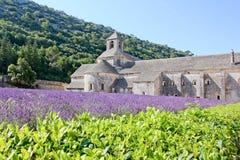 Abadía de Sénanque Imágenes de archivo libres de regalías