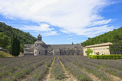 Abadía de Sénanque Imagenes de archivo