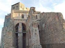 Abadía de Sacra di San Micaela Imágenes de archivo libres de regalías