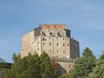 Abadía de Sacra di San Micaela Fotos de archivo libres de regalías