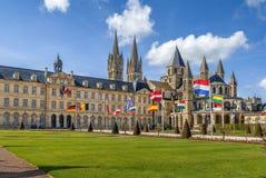 Abadía de Saint-E'tienne, Caen, Francia Foto de archivo libre de regalías