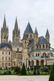 Abadía de Saint-E'tienne en Caen Imagenes de archivo