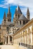Abadía de Saint Etienne Fotografía de archivo libre de regalías