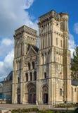 Abadía de Sainte-Trinite, Caen, Francia Imagenes de archivo