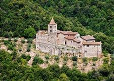 Abadía de San Cassiano - Umbría, Italia Foto de archivo
