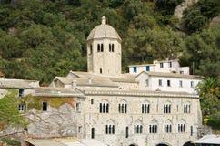 Abadía de San Fruttuoso Fotos de archivo