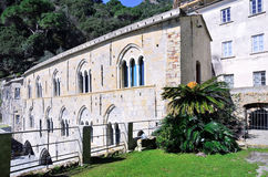 Abadía de San Fruttuoso Fotografía de archivo