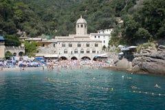 Abadía de San Fruttuoso, Italia Fotografía de archivo libre de regalías
