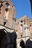Abadía de San Galgano Foto de archivo