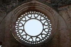 Abadía de San Galgano Foto de archivo libre de regalías