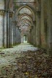 Abadía de San Galgano, detalle Foto de archivo libre de regalías